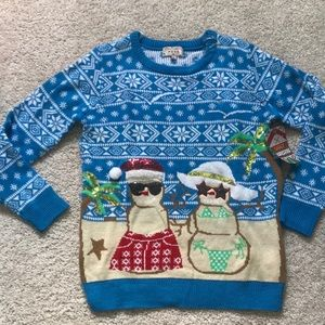NWT Ugly Christmas Sweater 😎🎄🌴☀️🐚☃️👙